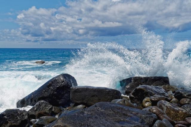 Kraftvolle Welle